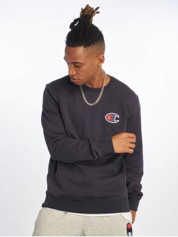 Champion Rochester Pullover Single Logo blau