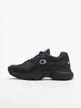 Champion Rochester Sneaker CWA-1 Leather Low Cut nero
