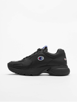 Champion Rochester Sneaker CWA-1 Leather Low Cut schwarz