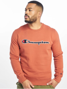 Champion Rochester Sweat & Pull  Logo Sweatshirt Burnt Br...