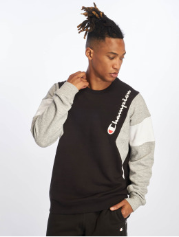 Champion Rochester Sweat & Pull Diagonal  noir
