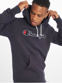 Champion Rochester Sweat capuche Patch  bleu