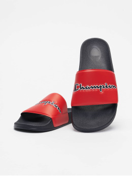 Champion Sandály Rochester Slide M-Evo Script modrý