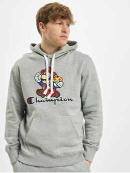 Champion Sweat capuche Rochester x Super Mario Bros  gris