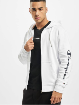 Champion Sweat capuche zippé Legacy  blanc