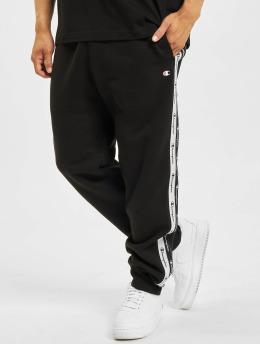 Champion Sweat Pant  Logo Tape Sweat Pants Bl...