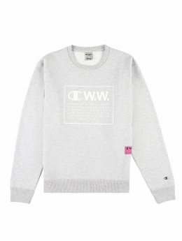 Champion Swetry by Wood Wood Mike Crewneck szary