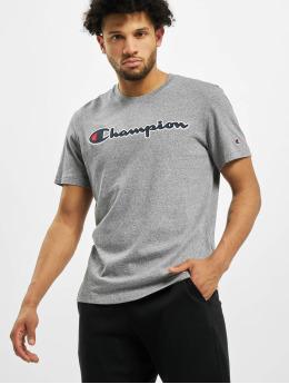Champion T-Shirt Satin Logo grau