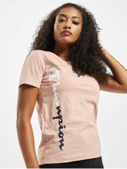 Champion t-shirt Legacy  rose