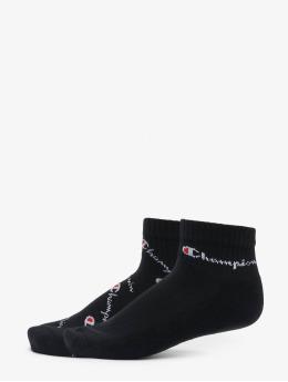 Champion Underwear Ponožky Y0abc X2 Ankle Fashi èierna