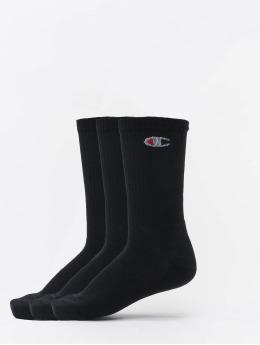 Champion Underwear Ponožky X3 Legacy Crew 3-Pack èierna