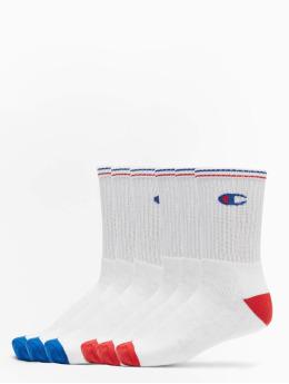 Champion Underwear Ponožky X6 Crew biela