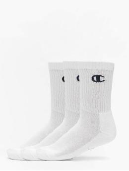 Champion Underwear Ponožky X3 Legacy Crew biela