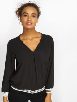 Charming Girl Blouse/Tunic Uni black