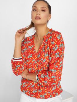 Charming Girl Bluse Uni rot
