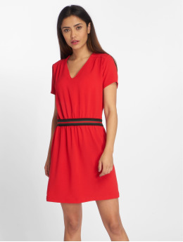 Charming Girl Dress Urban  red