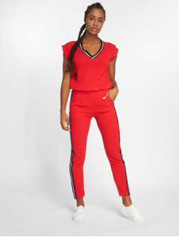 Charming Girl Jumpsuits Pauline red