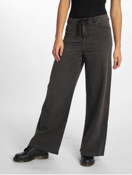 Cheap Monday Chinot/Kangashousut Ideal Trousers Crinkle musta