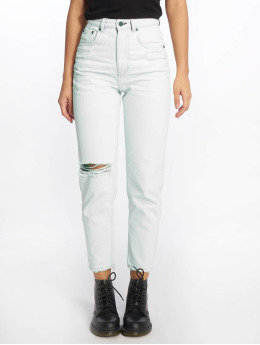 Cheap Monday Jean coupe droite Regular Donna Off bleu