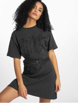 Cheap Monday jurk Conjured Defect Logo grijs