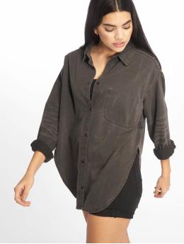 Cheap Monday overhemd Obscure Crinkle  zwart