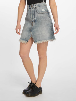 Cheap Monday Shrunken Hex Skirt Blue