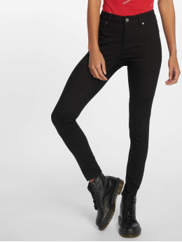 Cheap Monday Skinny Jeans Mid Spray čern