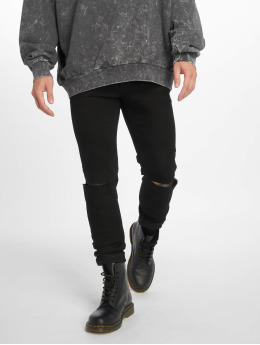 Cheap Monday Skinny Jeans Him Spray Cut čern