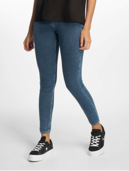 Cheap Monday Skinny Jeans High Spray Norm blau
