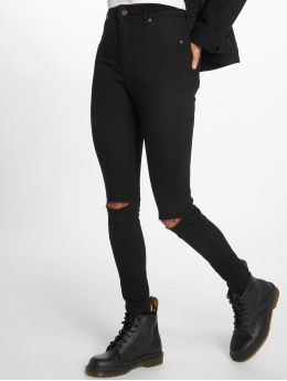 Cheap Monday Skinny Jeans High Spray Cut czarny