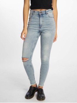 Cheap Monday Skinny Jeans High Spray modrý