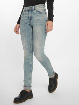 Cheap Monday Skinny Jeans Tight Hex niebieski