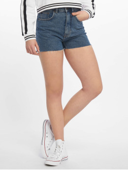Cheap Monday Szorty Donna Norm Core niebieski