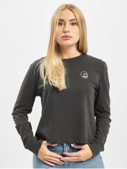 Cheap Monday T-Shirt manches longues Beside Skull  noir