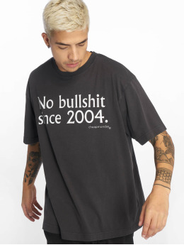 Cheap Monday T-Shirt No Bs Since Used Wash noir