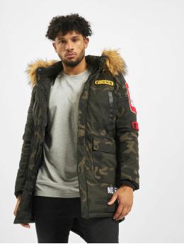 Cipo & Baxx Зимняя куртка Fur хаки