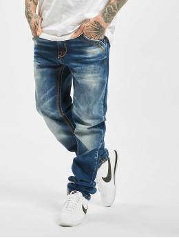 Cipo & Baxx Jean coupe droite Stone Washed bleu