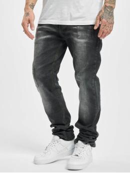 Cipo & Baxx Slim Fit Jeans Simon  šedá