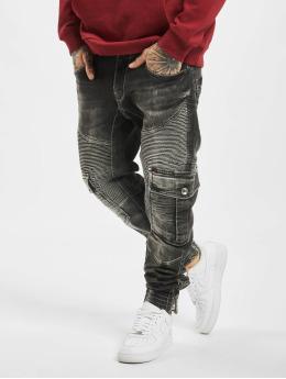 Cipo & Baxx Spodnie Chino/Cargo Denim czarny