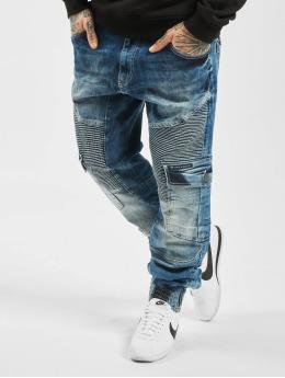 Cipo & Baxx Spodnie Chino/Cargo Denim niebieski