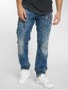 Cipo & Baxx Straight Fit Jeans Alpha blau