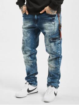 Cipo & Baxx Straight Fit Jeans Joe modrý