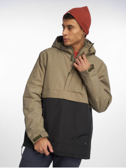 Cleptomanicx Winterjacke City Hooded Light 2 olive