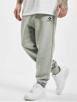 Converse Спортивные брюки Star Chevron Embroided серый