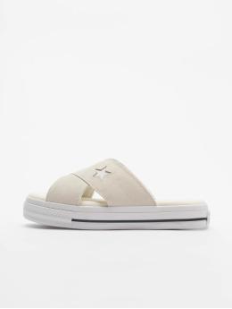 Converse Badesko/sandaler One Star Slip beige