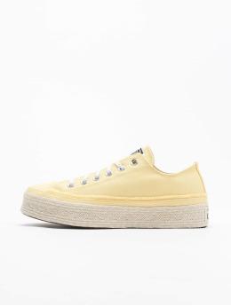 Converse Baskets Ctas Espadrille Ox  jaune
