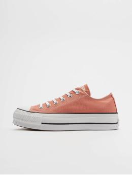 Converse | Chuck Taylor All Star Lift Ox orange Femme Baskets