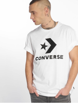 Converse Camiseta Star Chevron blanco