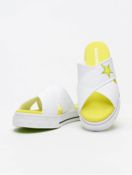 Converse Claquettes & Sandales One Star Slip blanc