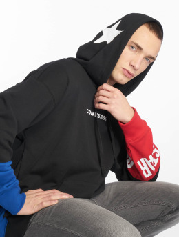 Converse Hoodies One Star Block Pack čern